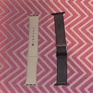 Two 38mm Apple Watch bands